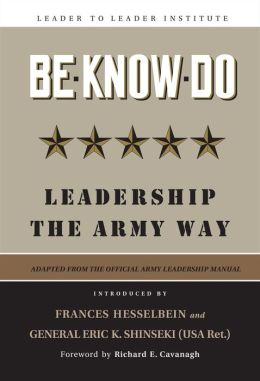 Be Know Do: Leadership the Army Way, Adapted from the Official Army Leadership Manual