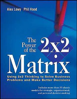 The Power of the 2 x 2 Matrix: Using 2x2 Thinking to Solve Business Problems and Make Better Decisions