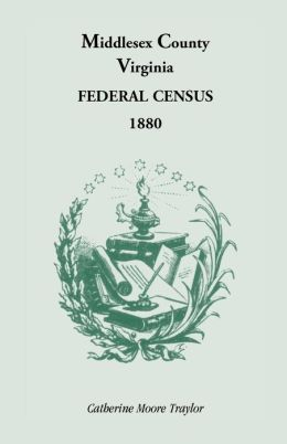 Federal Census 1880 Middlesex County, Virginia