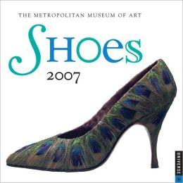 2007 Shoes Mini Wall Calendar