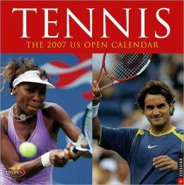 2007 US Open Tennis Wall Calendar