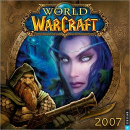 2007 World of Warcraft Wall Calendar