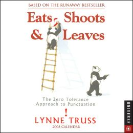 2008 Eats, Shoots and Leaves Box Calendar