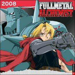 2008 Full Metal Alchemist Wall Calendar
