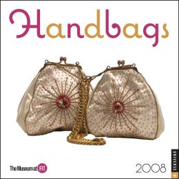 2008 Handbags Mini Wall Calendar