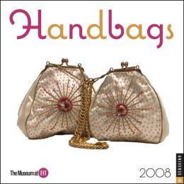 2008 Handbags Mini Wall Calendar