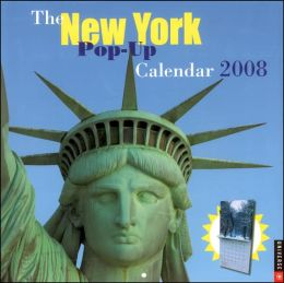 2008 New York Pop-up Wall Calendar