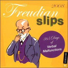 2008 Freudian Slips Box Calendar