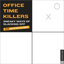 2009 Office Time Killer Box Calendar