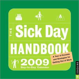 2009 Sick Day Handbook Box Calendar