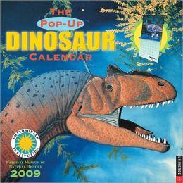 2009 Dinosaurs Pop-Up Wall Calendar
