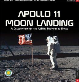 2009 Apollo 11: Moon Landing Wall Calendar