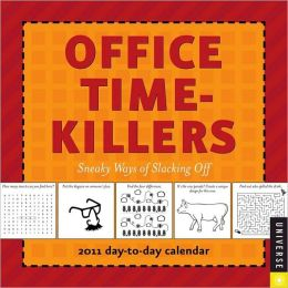 2011 Office Time-Killers Box Calendar