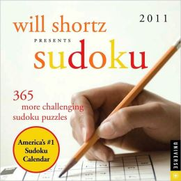 2011 Will Shortz Sudoku Box Calendar