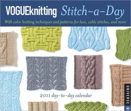 2011 Vogue Knitting Stitch-a-Day Box Calendar