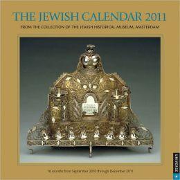 2011 Jewish Year Wall Calendar