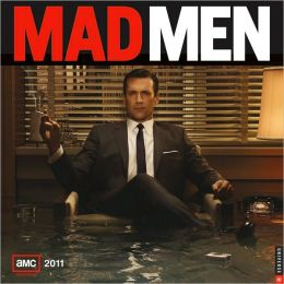 2011 Mad Men Wall Calendar