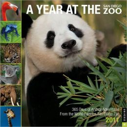 2011 Year at the San Diego Zoo, A Wall Calendar