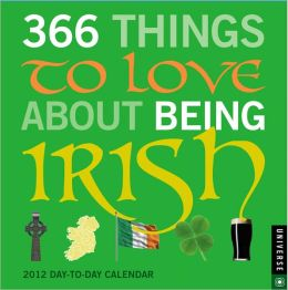 2012 365 Things to Love about Being Irish Box Calendar