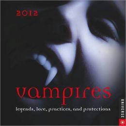 2012 Vampires Box Calendar