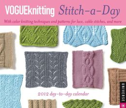 2012 Vogue Knitting Stitch-a-Day Box Calendar