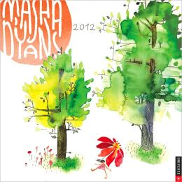 2012 Masha D'yans Watercolors Wall Calendar
