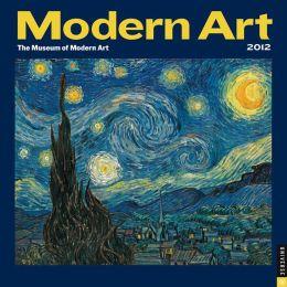 2012 Modern Art Wall Calendar