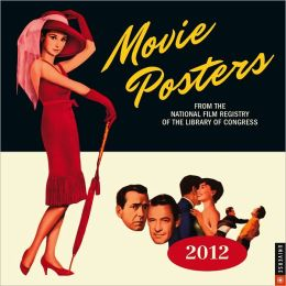 2012 Movie Posters Wall Calendar