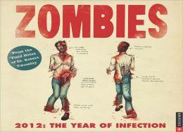 2012 Zombies Wall Calendar