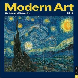 2012 Modern Art Mini Wall Calendar