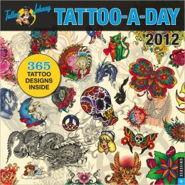 2012 Tattoo-a-Day Wall Calendar
