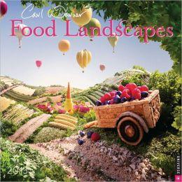2013 Food Landscapes Wall Calendar