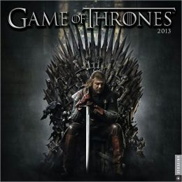 2013 Game of Thrones Wall Calendar