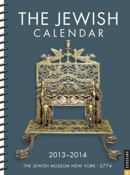 2014 Jewish 2013-2014 Engagement Calendar, The