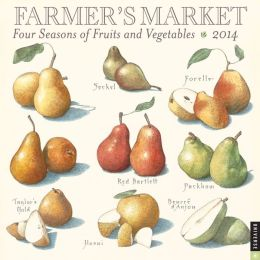2014 Farmers Market Wall Calendar