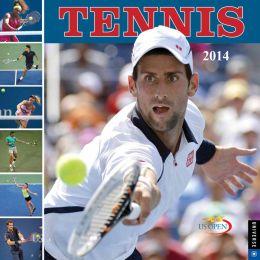2014 Tennis Wall Calendar