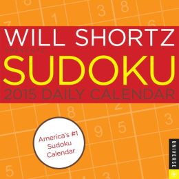 2015 Will Shortz Presents Sudoku Daily Day-to-Day Calendar