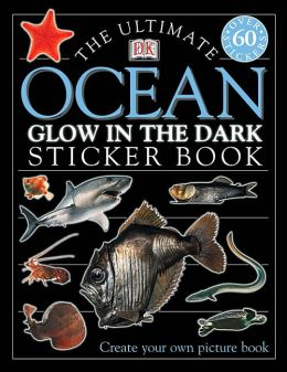 Ultimate Sticker Book: Glow-in-the-Dark: Ocean Creatures