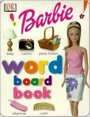 Barbie My First Word Board Book