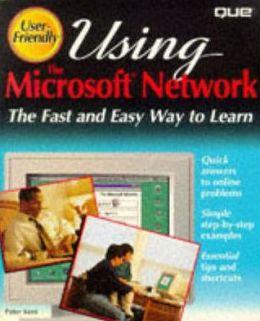 Using Microsoft Network