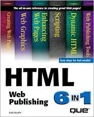 HTML Web Publishing 6-in-1