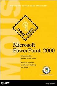 Microsoft PowerPoint 2000 MOUS Cheat Sheet