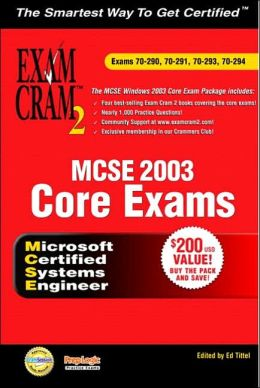 MCSE 2003 Exam Cram 2 Bundle (70-290, 70-291, 70-293 & 70-294)