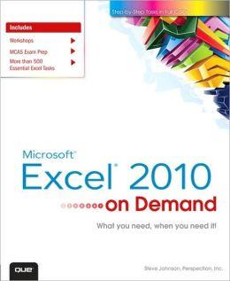 Microsoft Excel 2010 On Demand