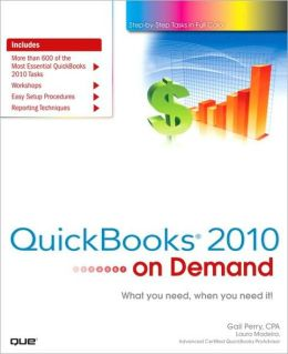QuickBooks 2010 on Demand (On Demand Series)
