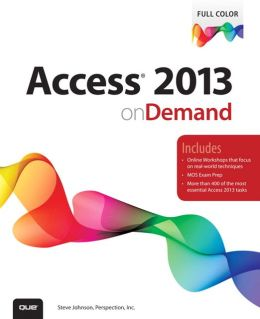 Access 2013 on Demand