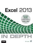 Book Cover Image. Title: Excel 2013 In Depth / Power Excel 2013 with MrExcel LiveLessons Bundle, Author: Bill Jelen