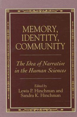 Memory, Identity, Community