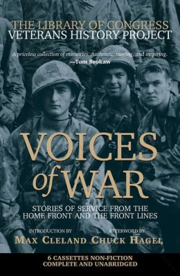 Voices of War Cassette: Stories of Service from the Homefront and the Frontlines