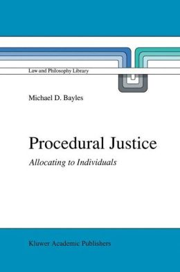 Procedural Justice: Allocating to Individuals
